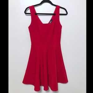 Lulu's Home Before Daylight dress red